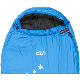 Jack Wolfskin Grow Up Star Makuupussi Lapset, electric blue
